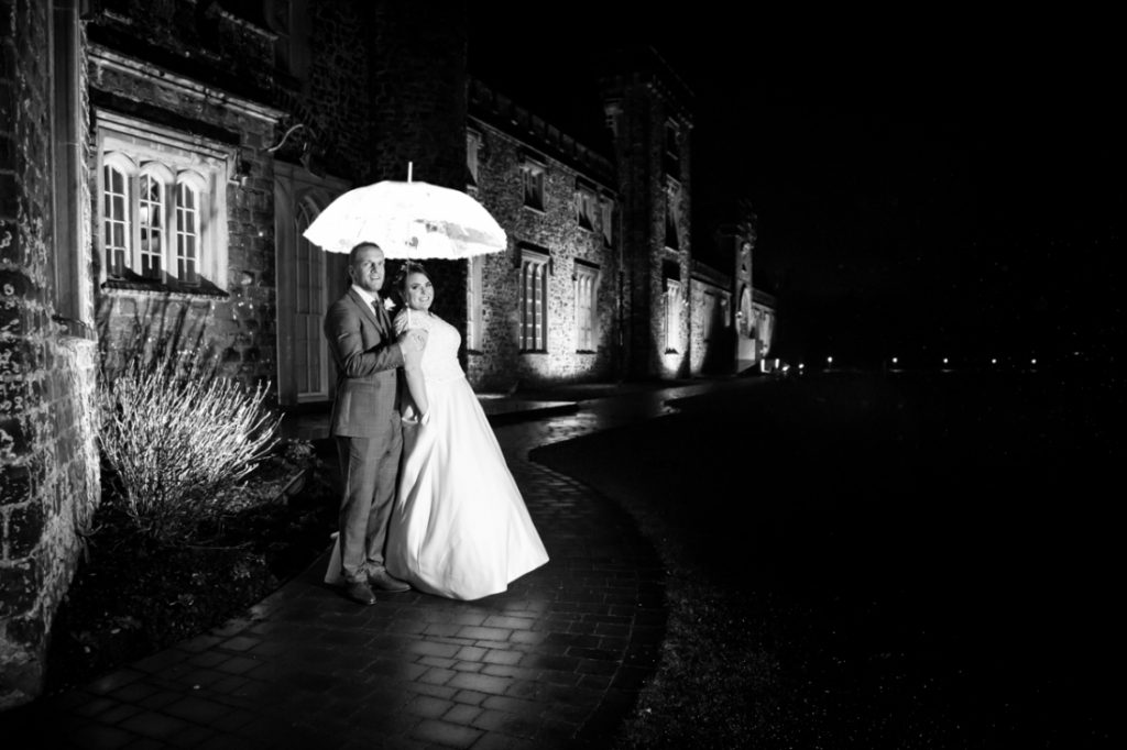 Kirsty and Geraint Wedding Photography at Hensol Castle, Vale of Glamorgan, Creative Wedding Photography, Christmas Wedding, Winter Wedding