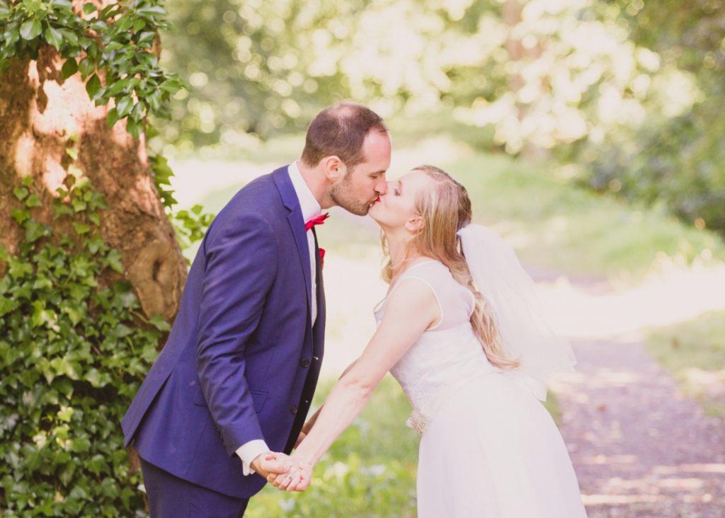 Charlotte and Kristian Wedding Photography at Llandaff Rowing Club and Llandaff University Campus, bride and groom