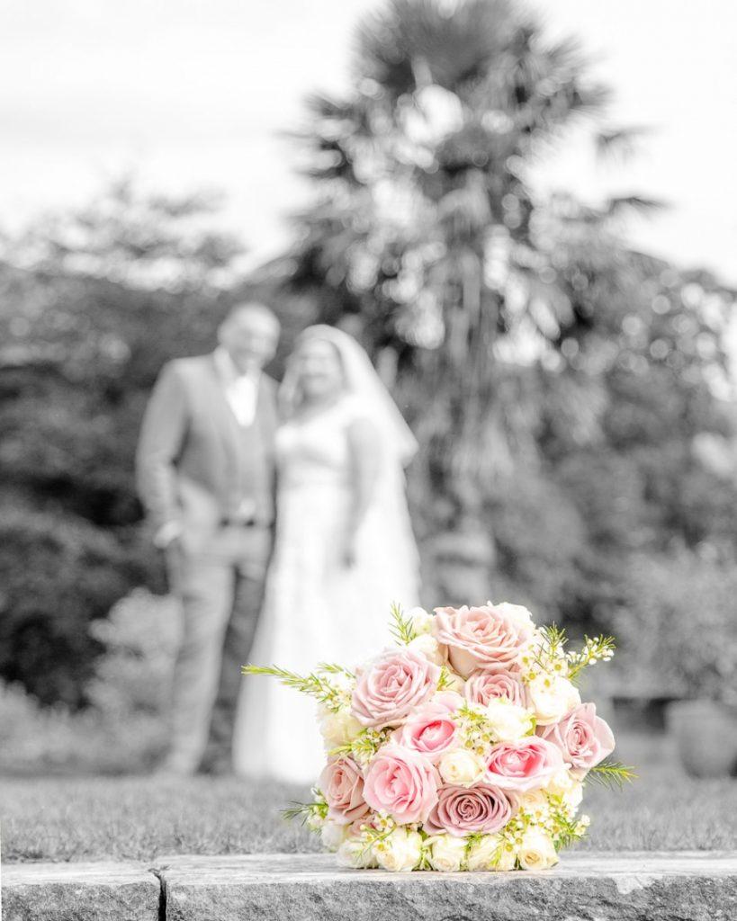 Katy and David Wedding Photography, Kilver Court, Bride and Groom, Wedding Bouquet