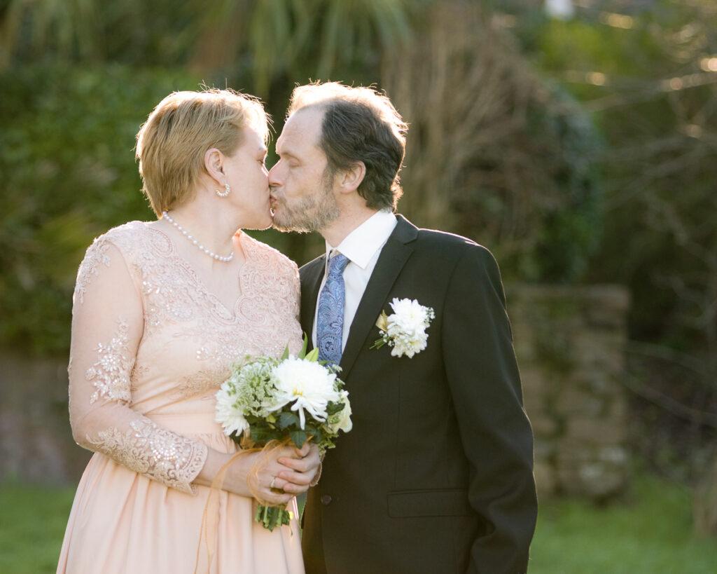 Iveta and Roberts Lockdown Wedding January 2021 at All Saints Church, Oystermouth, The Mumbles